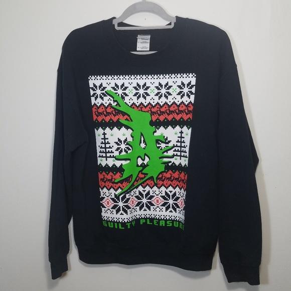 atilla band christmas crewneck sweater unisex - Band Christmas Sweaters